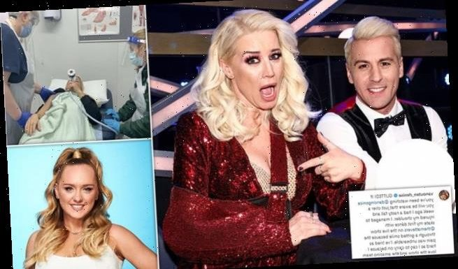 Denise Van Outen WITHDRAWS from Dancing On Ice