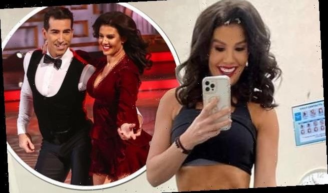 Rebekah Vardy credits gruelling DOI training for her ripped physique