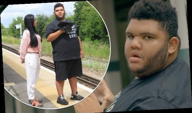 Harvey Price has been offered the chance to be a train announcer