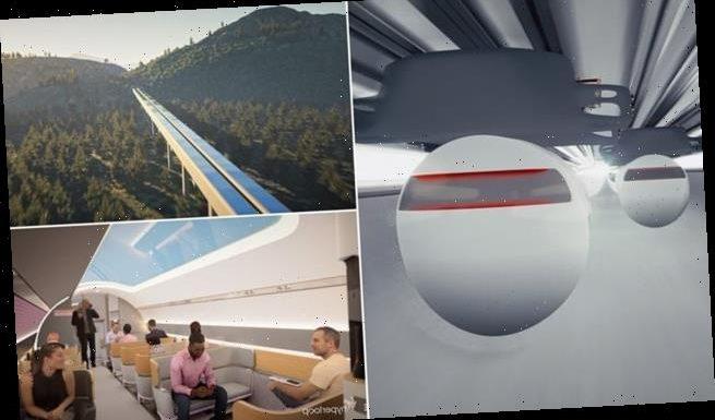 Virgin Hyperloop shares step-by-step video of its passenger experience