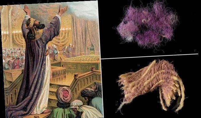 Ancient purple thread from Israel is of shade worn by Biblical royals