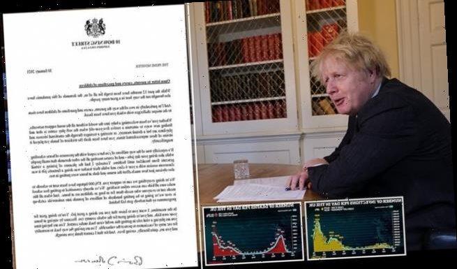 Boris Johnson sends an open letter to all Britain's parents