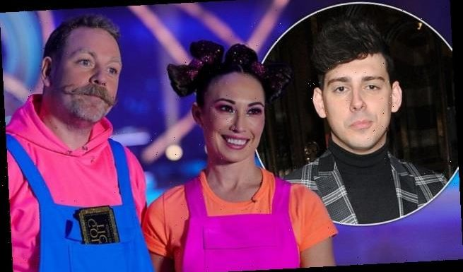 Dancing On Ice's Rufus Hound 'falls out with pro Robin Johnstone'