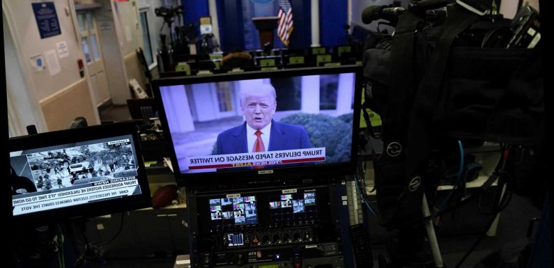 TV Is Starting to Cut Ties with Trump, as His Legacy Wreaks Havoc on Reality