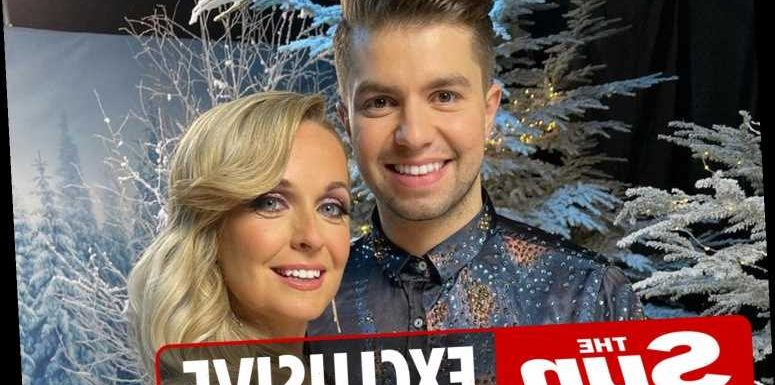 Dancing on Ice star Sonny Jay DROPS partner Angela during dangerous headbanger-style lift as they ramp up rehearsals