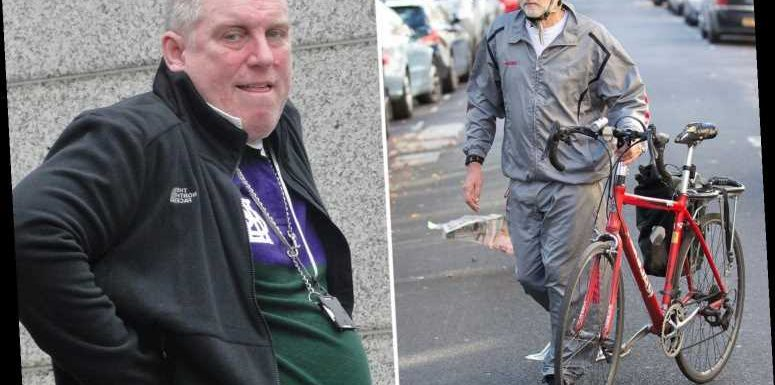 Yob plumber spat at Jeremy Corbyn and hurled abuse at his wife near their home