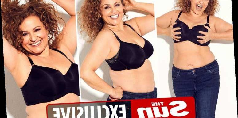 Nadia Sawalha, 56, shows off her curves in bra and says she's sexier when she's not 'done up like a dog's dinner'