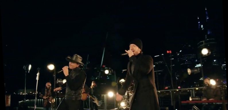 Tim McGraw, Tyler Hubbard Give Live Debut of 'Undivided' at 'Celebrating America'