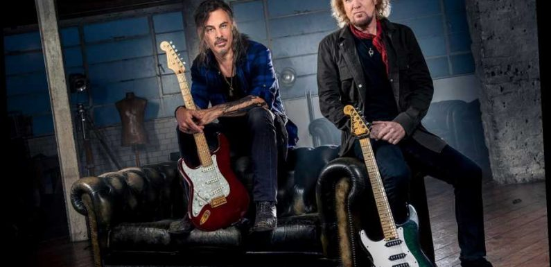 Iron Maiden's Adrian Smith Teams With Guitarist Richie Kotzen for Bluesy, Hard-Rock Side Project