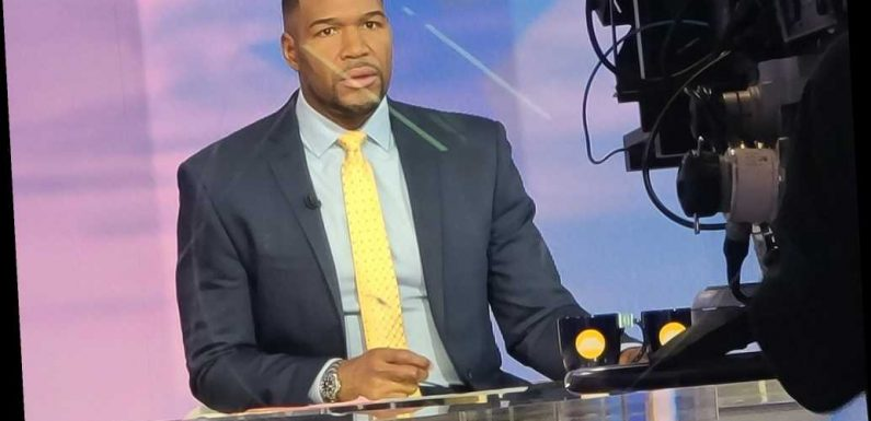 Michael Strahan tests positive for COVID-19: report