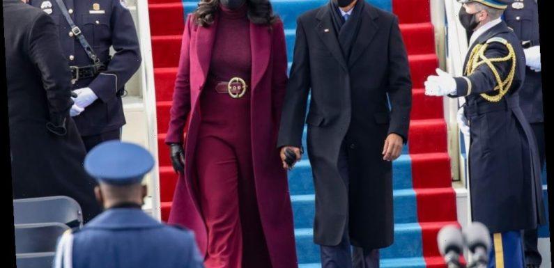 Who Designed Michelle Obama's Plum Look for Joe Biden's Inauguration?
