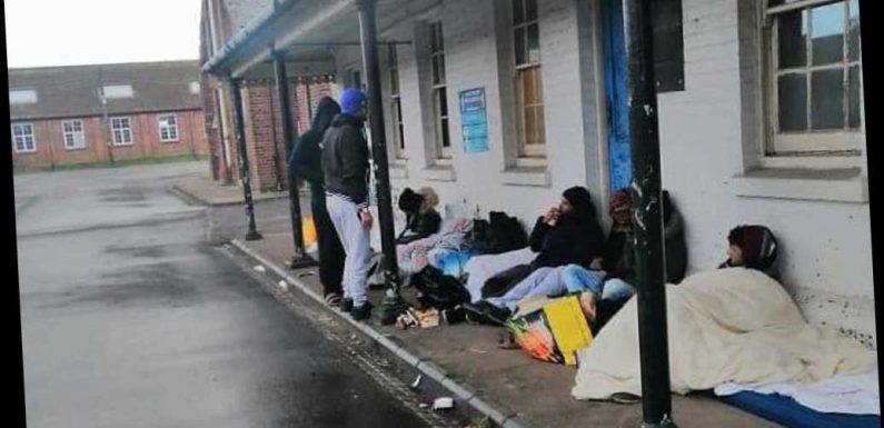 Covid outbreak as 120 people test positive at asylum seeker camp in Kent army barracks