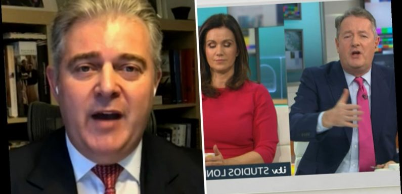 Piers Morgan explodes at government minister who has 'no idea' why Britain has worst Covid death rate in the world