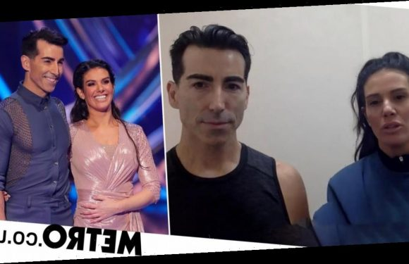 Dancing on Ice: Rebekah Vardy's partner 'can't even hug wife' during series