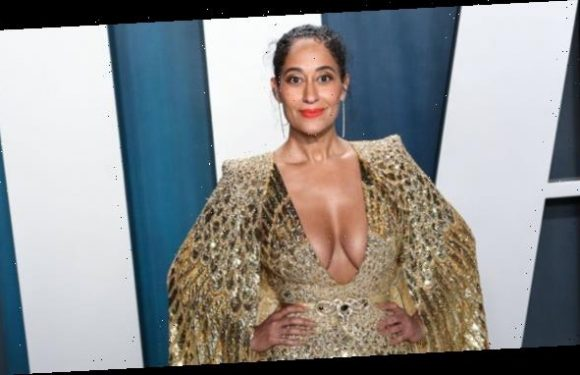 Tracee Ellis Ross, 48, Looks Identical To Her Mom Diana Ross In Metallic Crop Top — See Pic