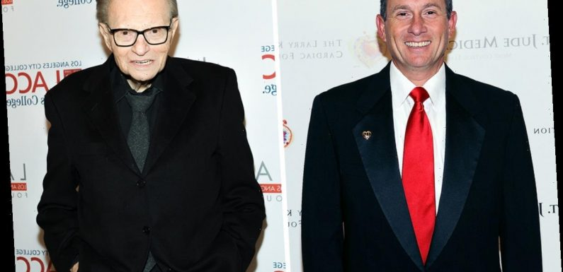 Who is Larry King Jr and is he married?