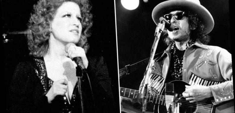 Flashback: That Time Bob Dylan Duetted With … Bette Midler?