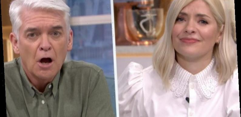 Holly Willoughby horrified as Phil Schofield screams down the phone at This Morning viewer's partner who keeps sniffing