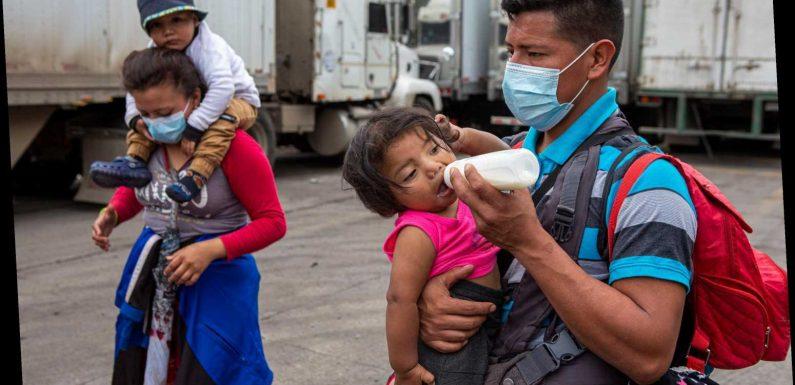 Honduran immigrant caravan broken up by Guatemalan military