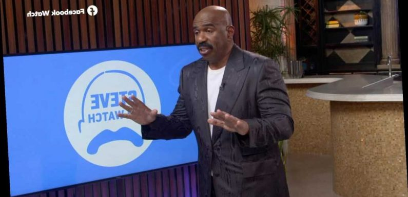 Steve Harvey Reflects on Police Brutality Protests amid COVID Pandemic: 'The World Was Frozen'