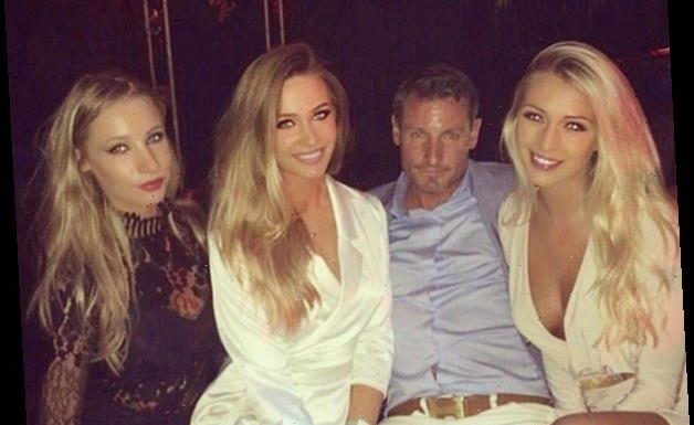 Dean Gaffney just posted this photo of his two daughters and girlfriend… and nobody can tell which is which