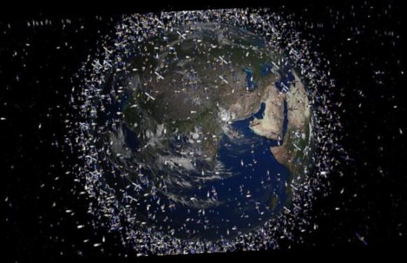 Space junk has become equivalent of a 'drifting island of plastic'