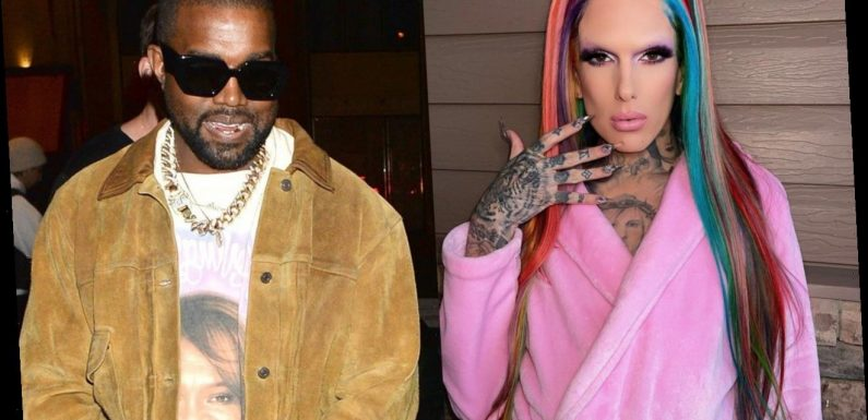 Jeffree Star Looks Unbothered by Kanye West Dating Rumors