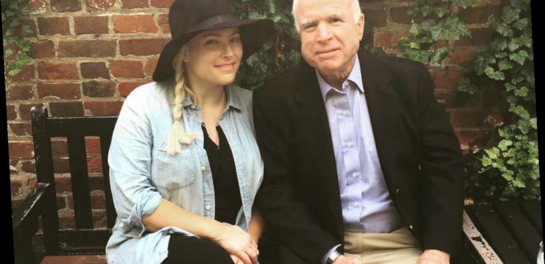 Meghan McCain Blasts Troll Saying She Gets Her Job Because of Her Dad
