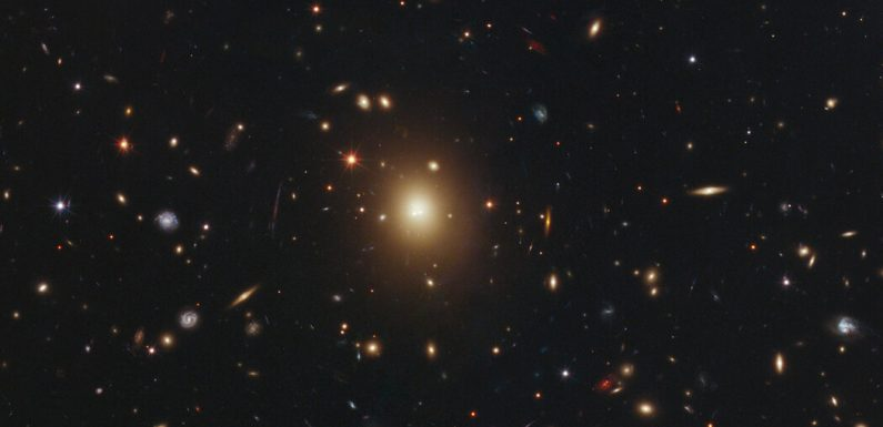 Missing: One Black Hole With 10 Billion Solar Masses