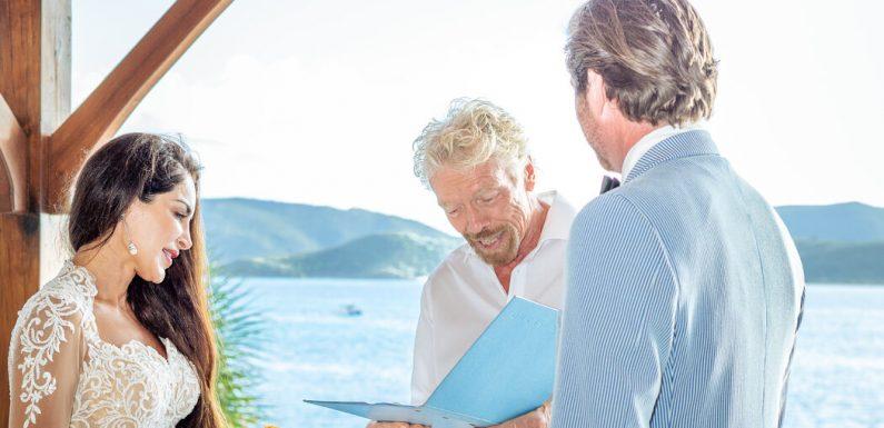 A Ceremony Led by Richard Branson