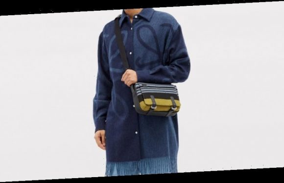 LOEWE Delivers Blanket-Inspired Fringed Flannel Shirt