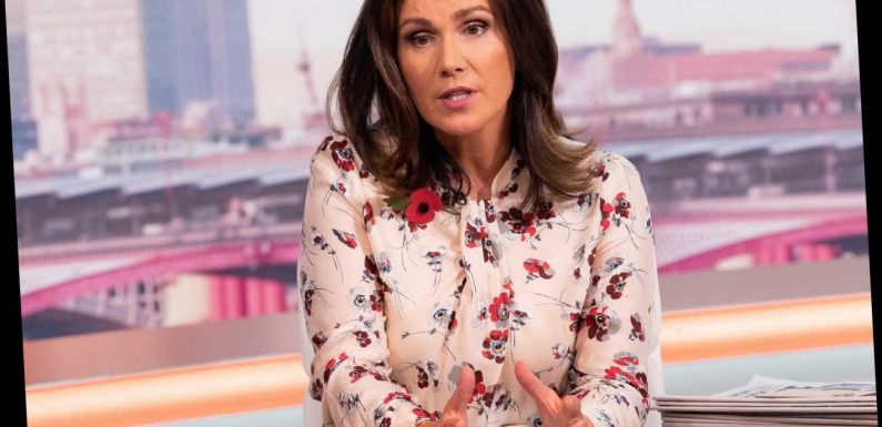 Why is Susanna Reid not on GMB this morning?
