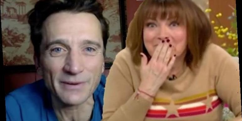 Lorraine Kelly forced to apologise after Graham Bell swears live on air 'S***!'