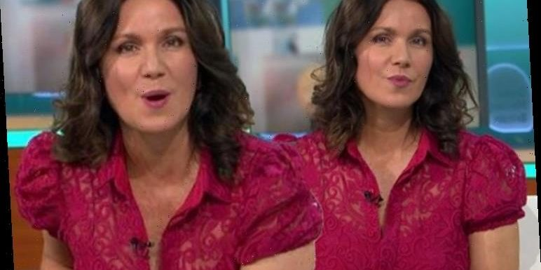 Good Morning Britain's Susanna Reid sparks frenzy with 'inappropriate' lace dress