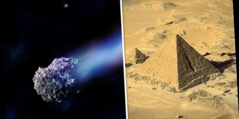 Asteroid as big as the Great Pyramid of Giza set to pass Earth tomorrow