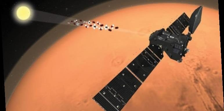 Life on Mars: Rising water vapour study investigates evidence of ancient alien life