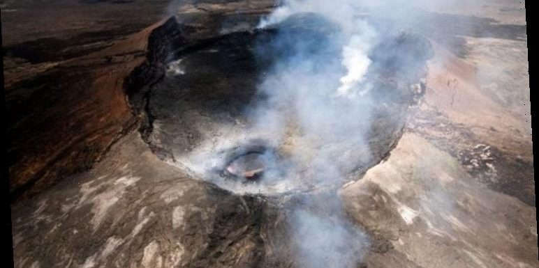 Kilauea volcano eruption: Alert level updated as USGS releases stunning images