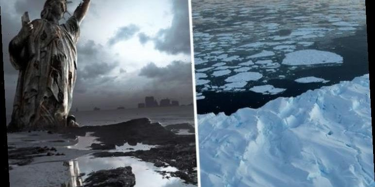 Antarctica warning after ice sheet 'size of Florida' tipped for 'rapid collapse'