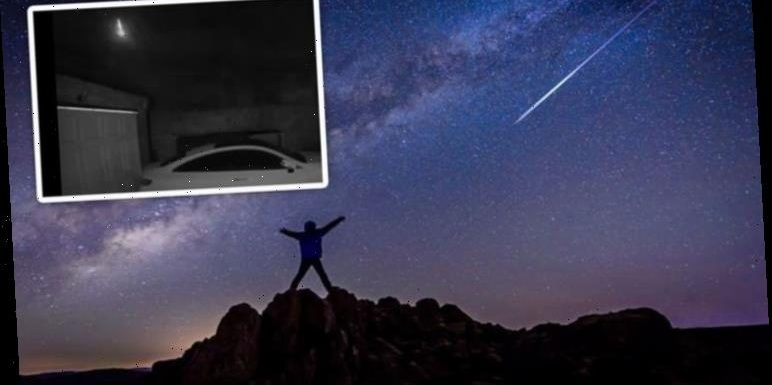 Meteor hits above northern England leaving witnesses stunned by sheer size of the fireball
