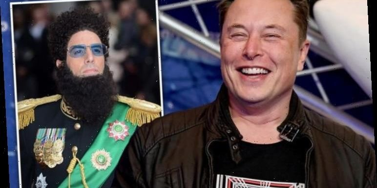 'More pointy' Elon Musk admits he changed Starship's design after seeing The Dictator