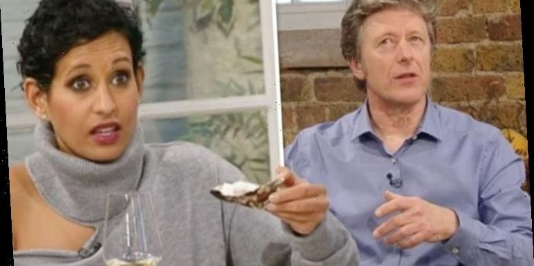 Naga Munchetty teases Charlie Stayt over aphrodisiac 'we might end up liking each other'