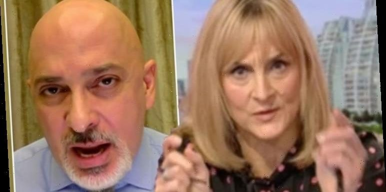 Louise Minchin steps in over 'car crash' Zahawi interview as BBC host forced to correct MP