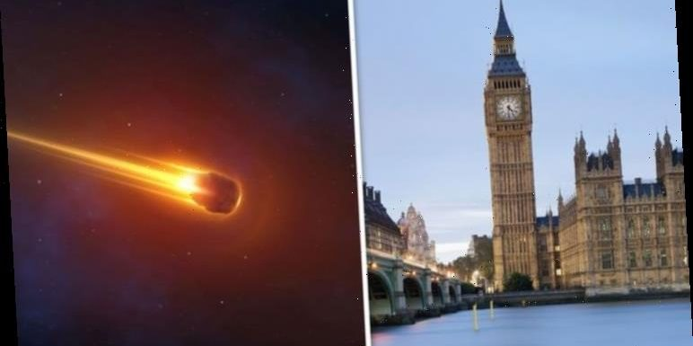 Asteroid 2-times size of Big Ben to pass Earth- NASA tracking 'potentially hazardous' rock