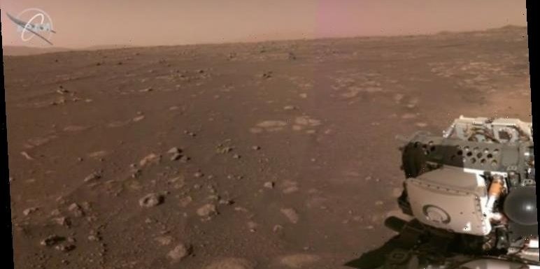 Mars rover Perseverance sends stunning video and images back to Earth