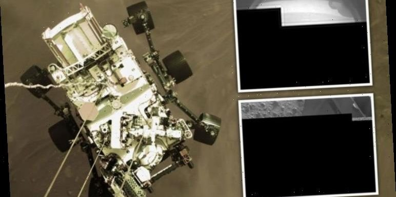 Mars rover photos branded 'pathetic' by UFO hunter who thinks NASA is 'hiding' something