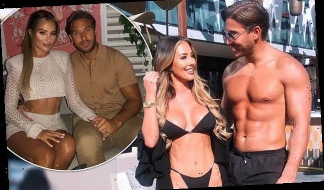 TOWIE's Yazmin Oukhellou has furious row with James Lock in Dubai