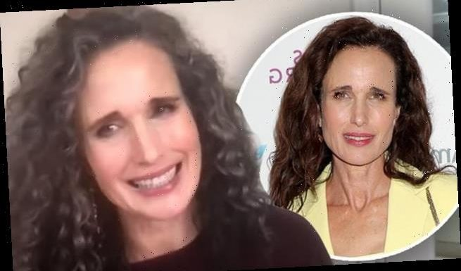 Andie MacDowell loves being a 'silver fox' after ditching her routine