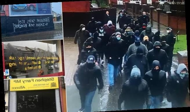 The Brexit disputes sending Northern Ireland tensions soaring