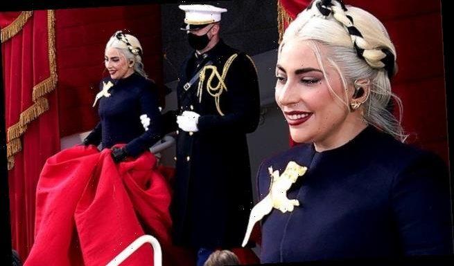 Lady Gaga's inauguration escort reveals the joke the singer made
