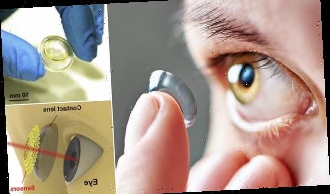 Smart CONTACT LENSES can improve your sight and monitor for diseases